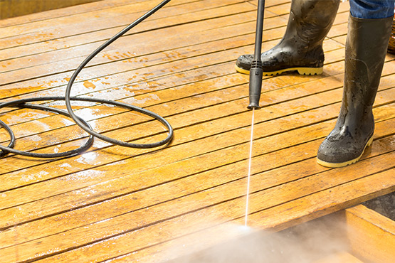 Decking Cleaning